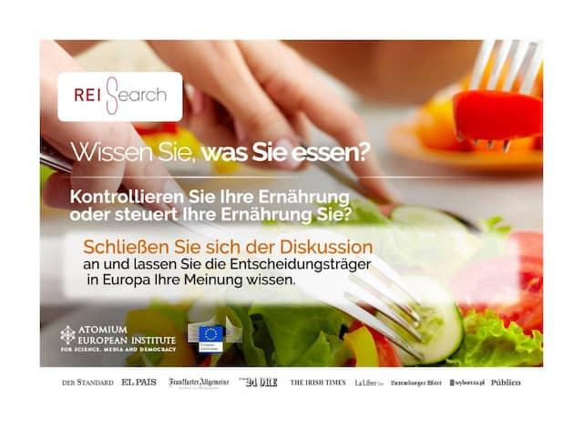 """Logo des europäischen """"REIsearch""""-Projektes."""