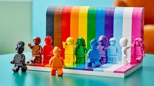 Unabhängig von der Farbe und ihrer Form bleiben Legosteine nach wie vor Legosteine