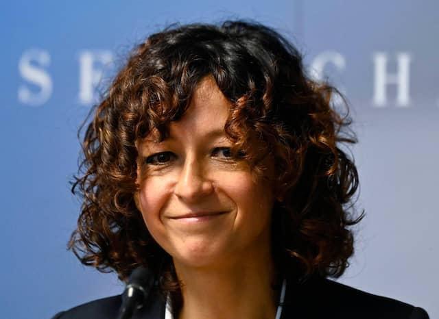 Die französische Mikrobiologin Emmanuelle Charpentier, Direktorin am Max-Planck-Institut für Infektionsbiologie in Berlin.