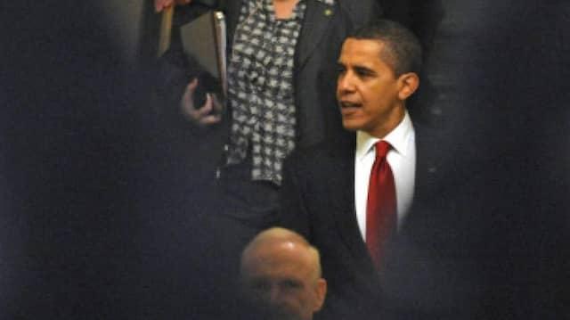 Obama trifft sich mit Republikanern auf Capitol Hill