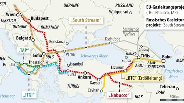 Projekt Nabucco Aserbaidschan Wahlt Eine Pipeline Nach Europa Wirtschaft Faz