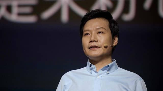 Xiaomi-Gründer Lei Jun bei einer Produktpräsentation