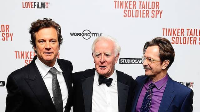 """Zwischen Gary Oldman (r.) und Colin Firth bei der britischen Premiere von """"Tinker, Tailor, Soldier Spy"""" im September 2011 in London"""