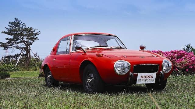 1977 stand dann auf der Tokio Motor Show der Toyota GT Hybrid Car.