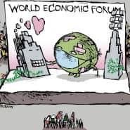Bei den Diskussionen auf dem Weltwirtschaftsforum in Davos standen auch die Interessen der Stakeholder im Vordergrund.