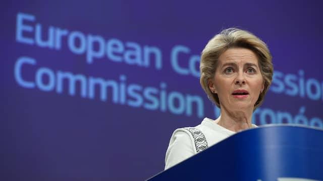Die neue Präsidentin der Europäischen Kommission: Ursula von der Leyen.
