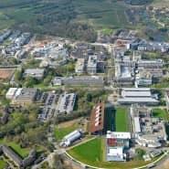Im Grünen: Der Campus der Warwick University, Partnerhochschule der TU Darmstadt
