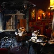 """Ermittlungen zur Brandursache im Restaurant """"La Rotonde"""" laufen – es könne Wochen dauern bis das Traditionsrestaurant seine Türen wieder öffnen kann."""