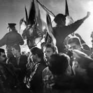Jubel am 3. Oktober 1990 in Berlin wegen der vollzogenen Einheit