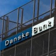 Eine Niederlassung der Danske-Bank im estnischen Tallin