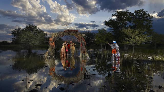"Lebende Bilder: Nicolas Henry, ""A Place in the Sun – Hereros reflets"""