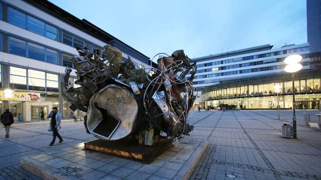 Der Campus der Universität in Jena.