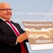 Überbrücken mit Wirtschaftsminister Peter Altmaier (CDU)