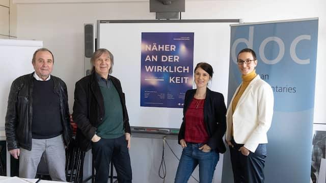 Generationen: Hannes Karnick, Thomas Frickel, Melanie Gärtner und Yasmin Rams (von links)