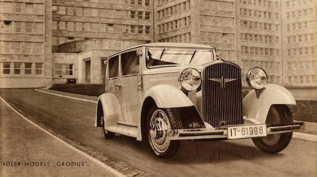 Automobile von Walter Gropius: Bauhaus auf Rädern