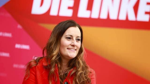 Frontfrau: Janine Wissler wird als eine der beiden neuen Linken-Vorsitzenden häufiger in Berlin die Bühne betreten.