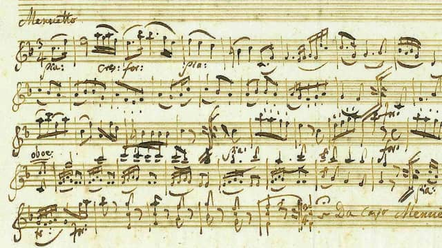 Ein Ausschnitt des 238 Jahre alten Manuskripts