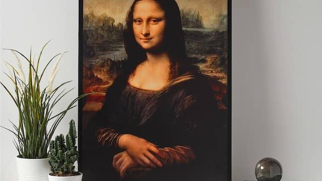 Mona Lisa-Komposition für ein wohliges Wohnraumgefühl