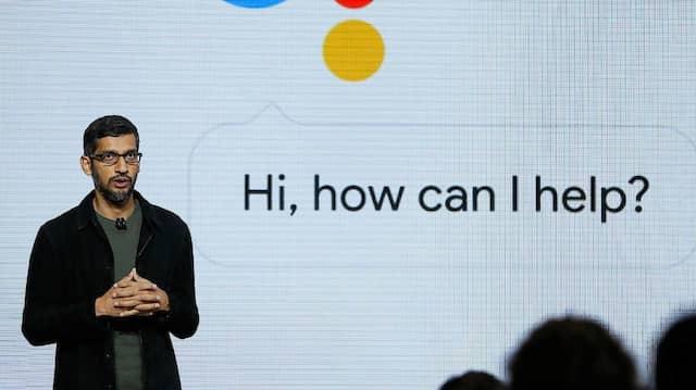 Sundar Pichai wird nun auch Chef der Google-Holding Alphabet.