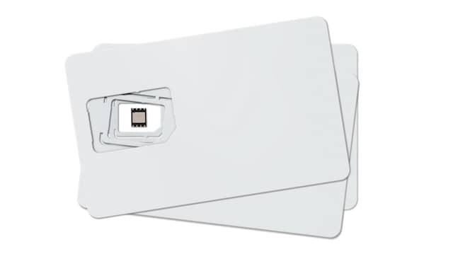 Schrumpfkur der SIM: Vom  Scheckkartenformat bis zur eingebauten E-SIM