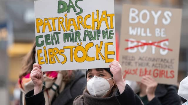 Der feministische Kampf geht weiter – wie hier auf einer Demonstration zum diesjährigen Internationalen Frauentag in Stuttgart.