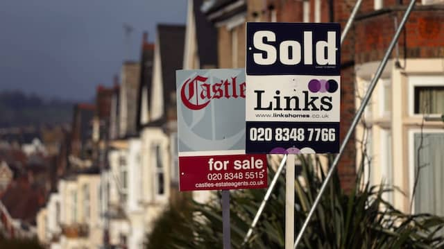 Die Häuserpreise in Großbritannien steigen weiter.
