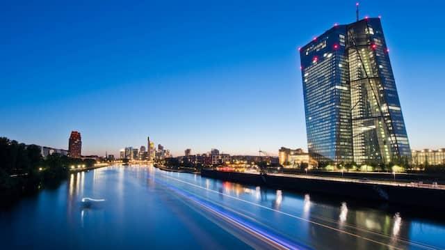 Die Europäische Zentralbank in Frankfurt (Archivbild)
