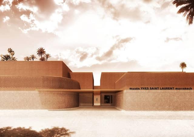 Das Museum in Marrakesch