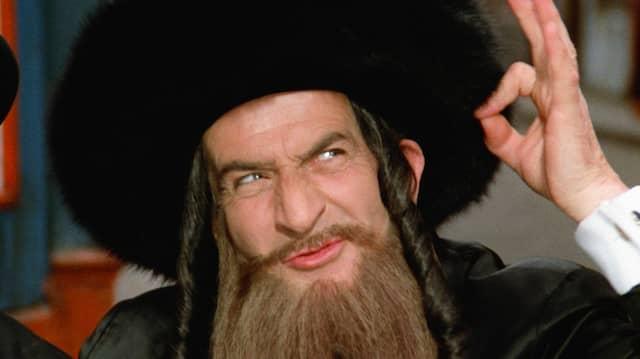 """Luis de Funès in """"Die Abenteuer des Rabbi Jacob"""" (1973)"""