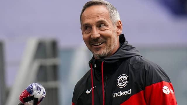 """""""Man konnte es nicht überhören"""": Trainer Adi Hütter hofft, dass sich die Fans  regelkonform verhalten haben."""