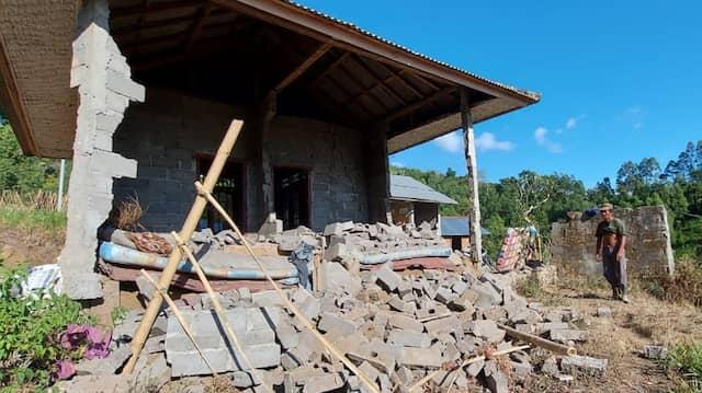 Für fünf Sekunden bebte die Erde auf Bali – viele Häuser lagen daraufhin in Trümmern.