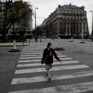 Nur gefühlt allein: Leere in Paris