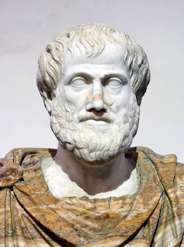 Aristoteles ging davon aus, dass es vier verschiedene Elemente gibt.
