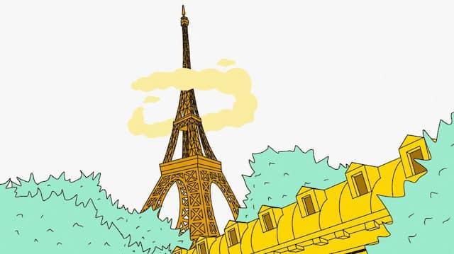 Ein Fest fürs Leben: Paris hat viele magische Orte, der attraktivste ist bei Peter Stephan Jungk ein Obst- und Gemüsemarkt im zwölften Arrondissement.