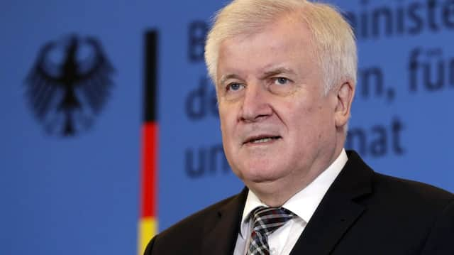 Bundesbauminister Horst Seehofer (CSU)