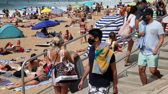 Sommer 2020 am Strand von Biarritz
