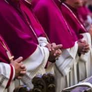 Die deutschen Bischöfe bei der Herbstvollversammlung in Fulda im vergangenen Jahr.