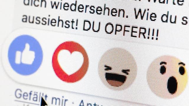 Wirken die Maßnahmen gegen Hass im Netz? (Symbolbild)