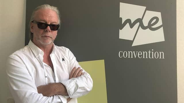 Frank Ahearn, der Experte für das spurlose Verschwinden, auf der Me Convention in Frankfurt