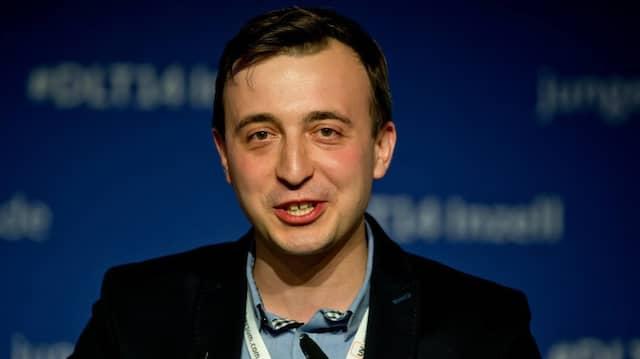 Der Vorsitzende der Jungen Union Paul Ziemiak (im September 2014 beim Deutschlandtag der JU)