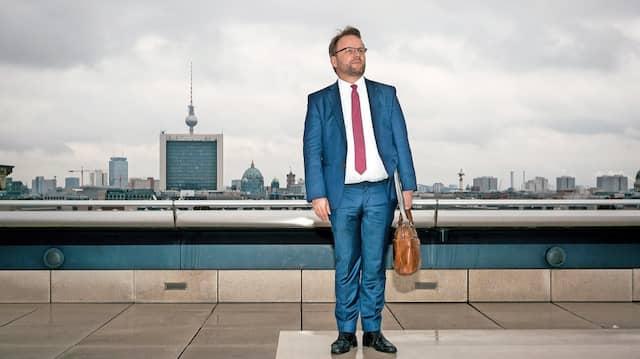 Wieder mal in Aufbruchstimmung: Der nordhessische  Bundestagsabgeordnete Timon Gremmels hofft – nach 16 Jahren Angela Merkel – auf einen Kanzler von der SPD.