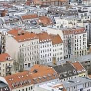 Ein Wohnviertel im Stadtteil Mitte in Berlin