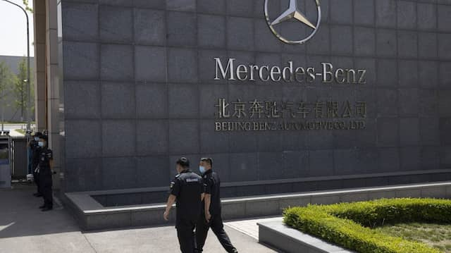 Mercedes-Werk in Peking