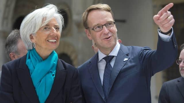 Lagarde und Weidmann im Jahr 2015