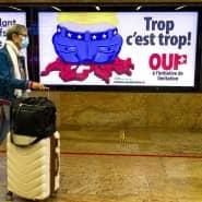 Plakat der SVP in Genf