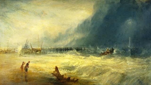 """Thomas Huber liest """"Der Sturm"""" von Johann Joachim Ewald"""