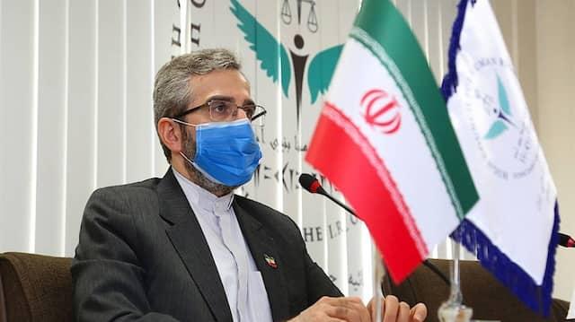 Der iranische Vizeaußenminister und Atomunterhändler Ali Baqeri Kani im Mai 2021