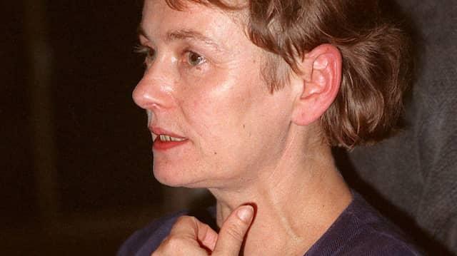 Eine mutige, oft unerschrockene, dabei zerbrechliche Frau der Tat: Bärbel Bohley im September 1990