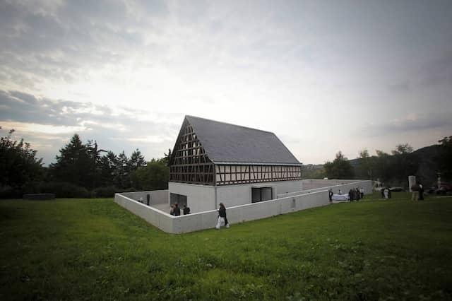 Das private Skulpturenmuseum für die Fondation Kubach-Wilmsen in Bad Münster am Stein