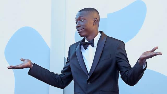 Sein Erfolg beruht auf einer Geste, die international verständlich ist: Lame bei den Filmfestspielen in Cannes.